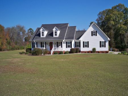 Beautiful Country Home On 10 Acres : Swainsboro : Emanuel County : Georgia