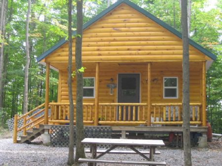 70 Acres Cabin Private Setting : Schuyler : Herkimer County : New York