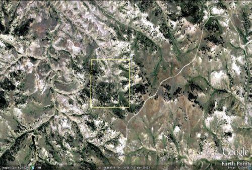 40 Acre Parcel Near Miles City : Miles City : Custer County : Montana