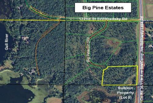 Cass, Sylvan, 1332921, L5 Big Pine : Pillager : Cass County : Minnesota
