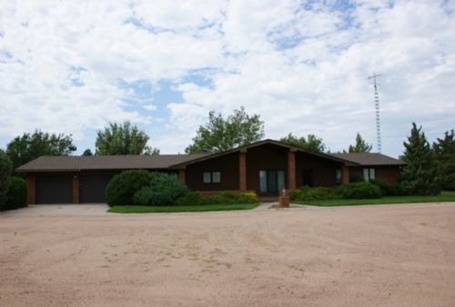 Beautiful Home & 48 Acres For Sale : Ovid : Sedgwick County : Colorado