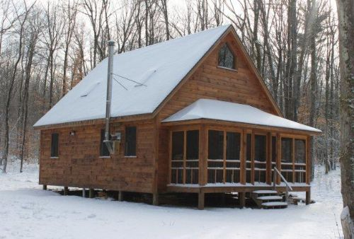 7+ Acres Cabin Snowmobiling Hunting : Camden : Oneida County : New York