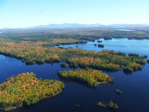 Land On Indian Pond : Rockwood : Somerset County : Maine