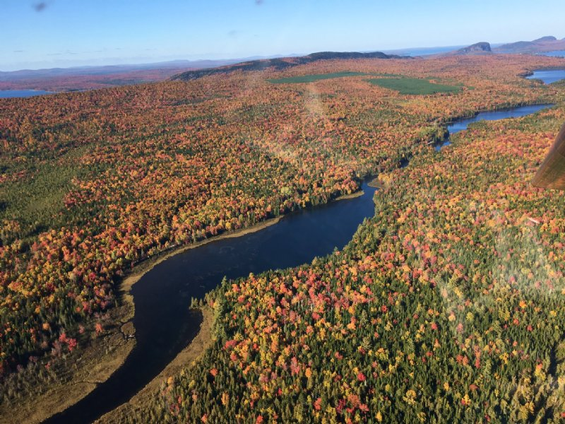 Land On West Outlet River : Rockwood : Somerset County : Maine