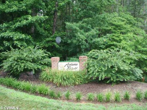 6103 Autumn Bluff Road Lot 1 : Powhatan : Powhatan County : Virginia