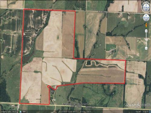 465 Acre Row Crop Farm : Lincoln : Benton County : Missouri