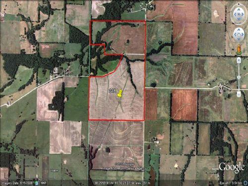 218 Acres Of Farm Ground : Lincoln : Benton County : Missouri