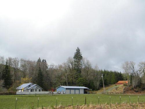30 Acres With Home, Barn And Shop : Montesano : Grays Harbor County : Washington