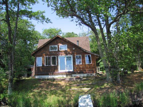 Lake Shishebogama Cottage : Lac Du Flambeau : Vilas County : Wisconsin