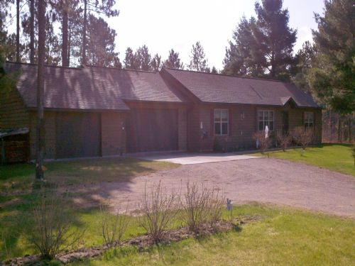 3br Ranch On 5+ Ac : Lac Du Flambeau : Vilas County : Wisconsin