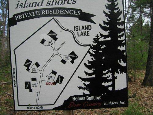 Island Lake Lot Unit 55 : Manitowish Waters : Vilas County : Wisconsin
