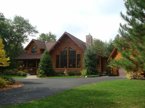 Big St Germain Lake Home : St Germain : Vilas County : Wisconsin