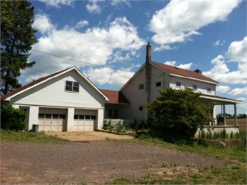 5+/- Acres Auction 2,000 Sq. Ft. : Berwick : Columbia County : Pennsylvania