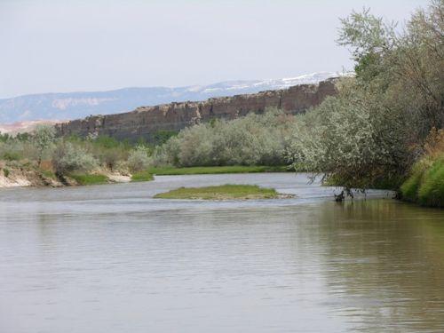 Greybull And Big Horn River : Greybull : Big Horn County : Wyoming