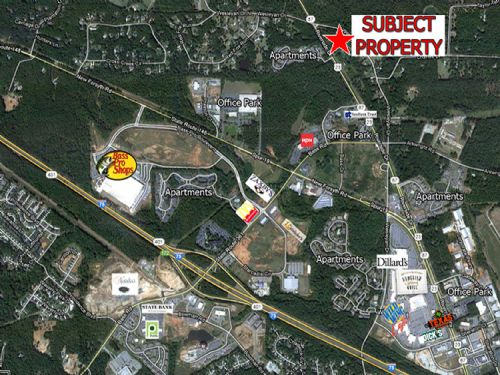 Riverside Drive - 6.2 Ac : Macon : Bibb County : Georgia