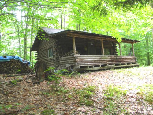 27 Acres Cabin Borders Cornell Land : Dryden : Tompkins County : New York