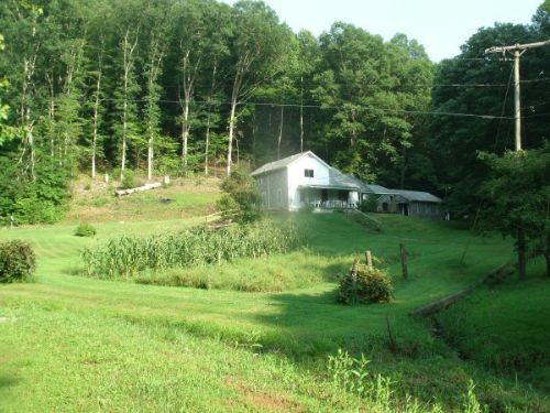 House With 89 Acres : Bickmore : Clay County : West Virginia
