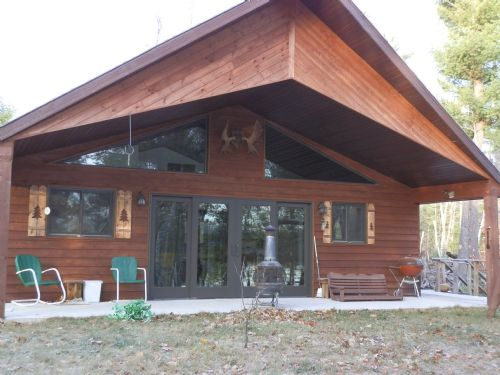 2br Cabin On Mitten Lake : Lac Du Flambeau : Price County : Wisconsin