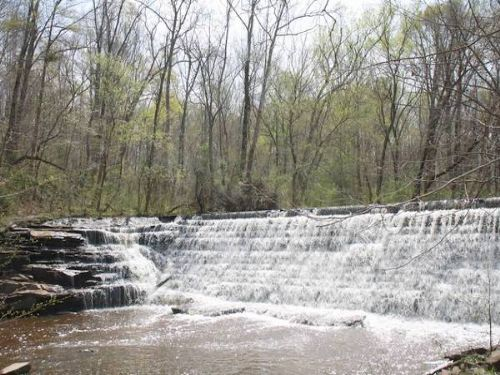 Muddy Creek Mill (c. 1753) : Cartersville : Cumberland County : Virginia