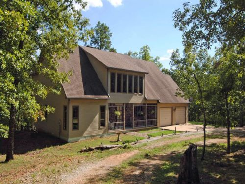 Non Traditional Home & Acreage : Mountain View : Stone County : Arkansas