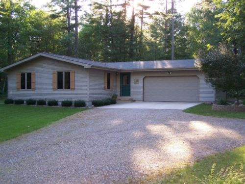 Great Home On 5.35 Private Acres : Arbor Vitae : Vilas County : Wisconsin
