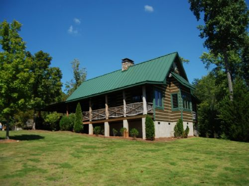 187 Acre Hunting Tract W/ Log Home : Pauline : Spartanburg County : South Carolina