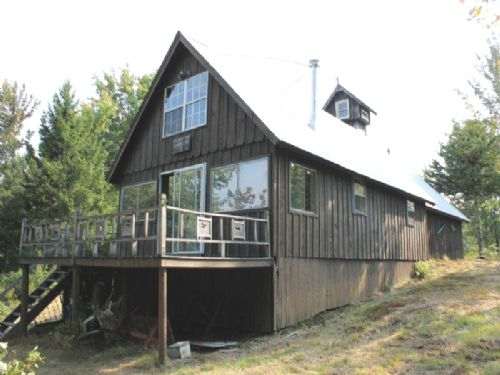 77 Acres Cabin Borders State Forest : Montague : Lewis County : New York