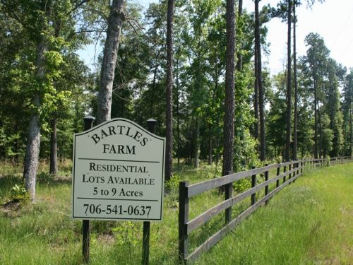 Rolling Fields : Appling : Columbia County : Georgia