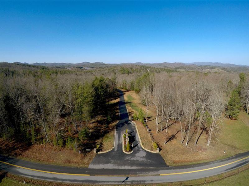 Gold Creek Mountain Development : Blairsville : Union County : Georgia