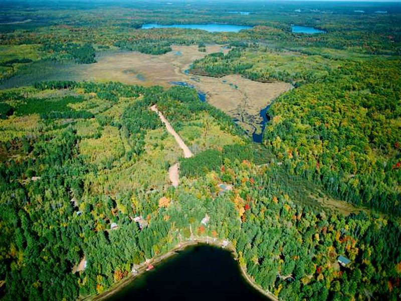 Pristine Waters Preserve, Lot 2 : Hazelhurst : Oneida County : Wisconsin