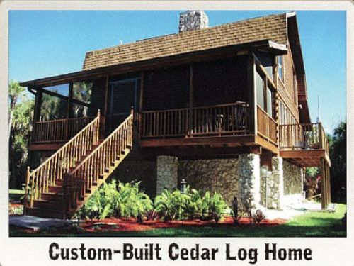 Auction Of Log Home On 5+/- Acres : Naples : Collier County : Florida