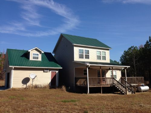 House And Acreage - Country Setting : Kite : Emanuel County : Georgia