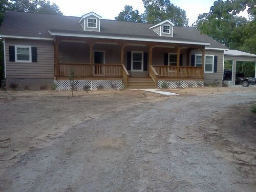 2 Newly Built Homes On Acreage : Sandersville : Washington County : Georgia