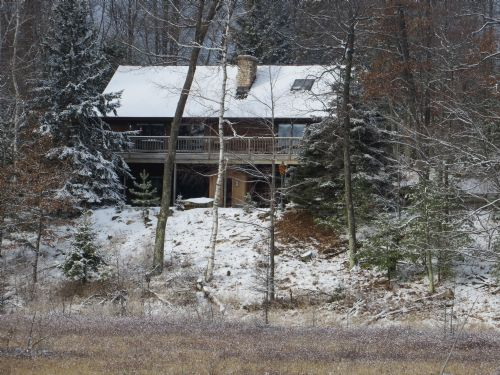 Bolger Lake Ranch Home : Minocqua : Oneida County : Wisconsin