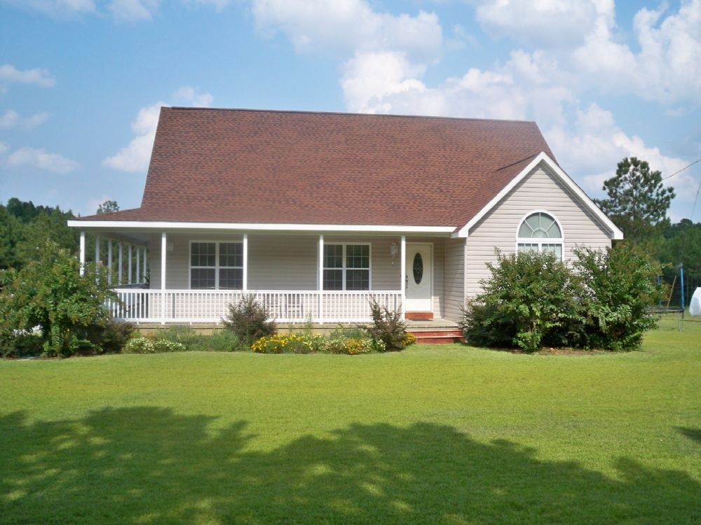 Country Home On 10.5 Acres : Bartow : Jefferson County : Georgia