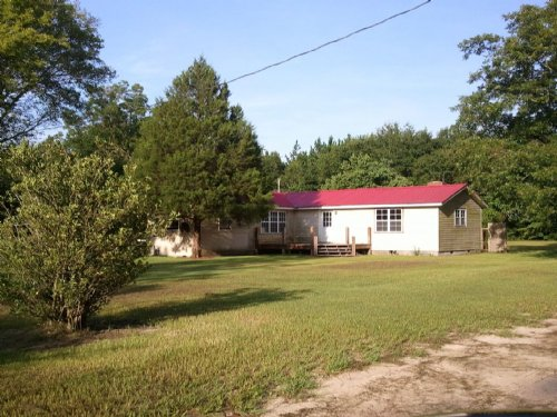 Nice Country Home On 11 Acres : Screven : Wayne County : Georgia