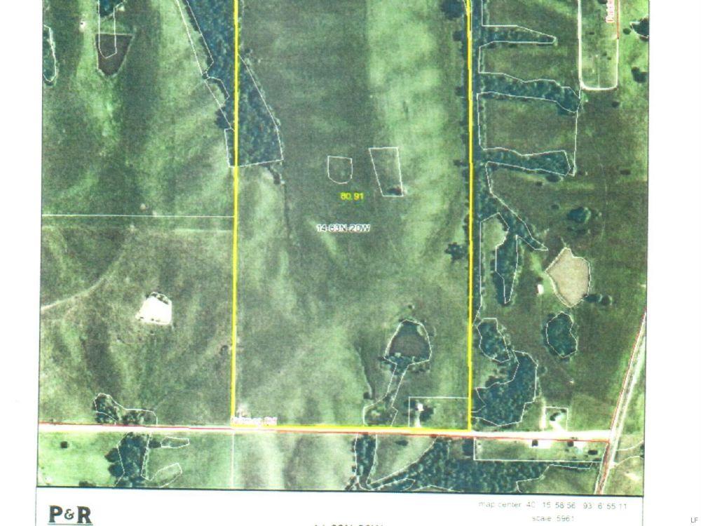 80 Acres : Milan : Sullivan County : Missouri