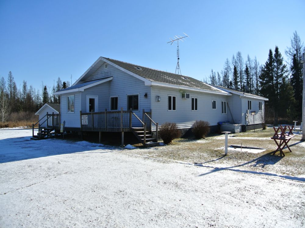Bar / Restaurant W/ Living Quarters : Lake Tomahawk : Oneida County : Wisconsin