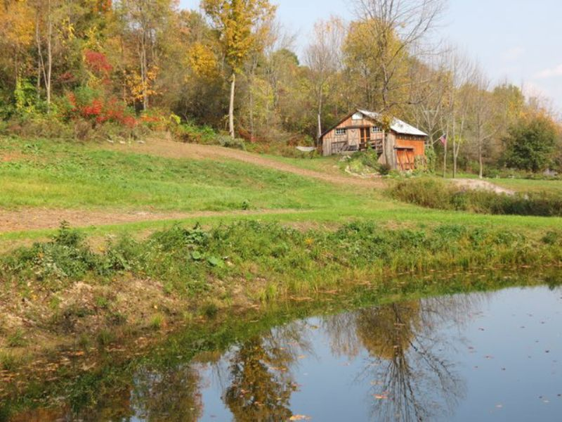77 Acres Home Woods Pond Views : St. Johnsville : Montgomery County : New York