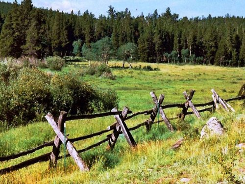 Jensen Ranch : Red Feather Lakes : Larimer County : Colorado