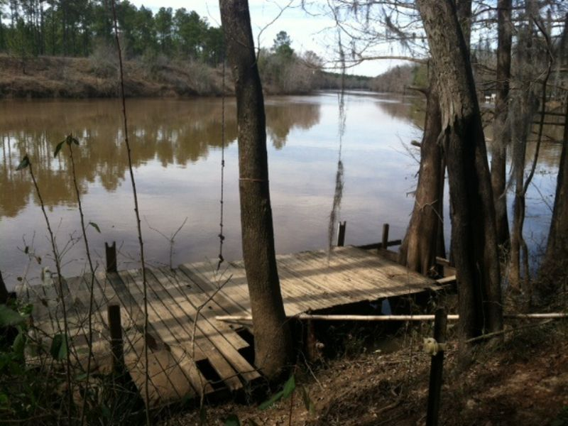 Big Water On The Flint River : Sylvester : Worth County : Georgia