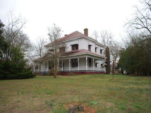 50 Acres W/ Plantation Style House : Carlisle : Union County : South Carolina