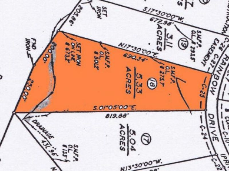 Rainbow Estates Tract : Meherrin : Prince Edward County : Virginia