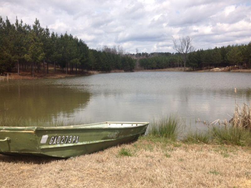 Acreage Home Site On Shared Pond : Greensboro : Greene County : Georgia