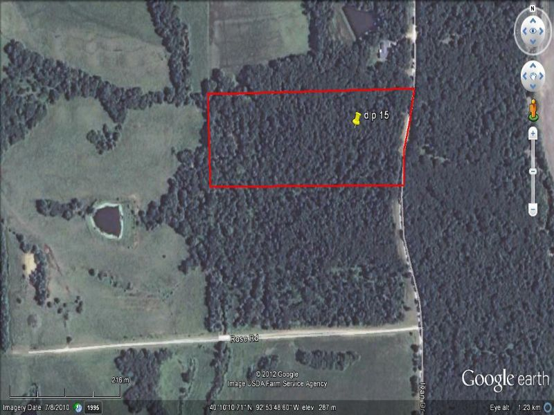 15 Acres : Sticklerville : Sullivan County : Missouri