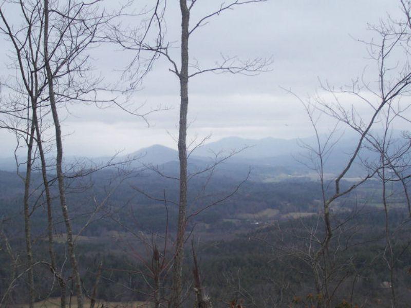 Mountain Property : Brasstown : Cherokee County : North Carolina