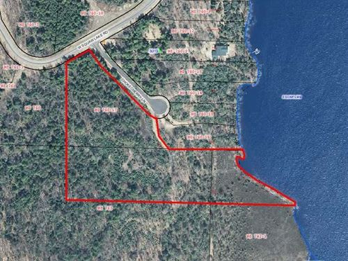 Mls 163060 - Lot 25 Squaw Lk : Minocqua : Oneida County : Wisconsin