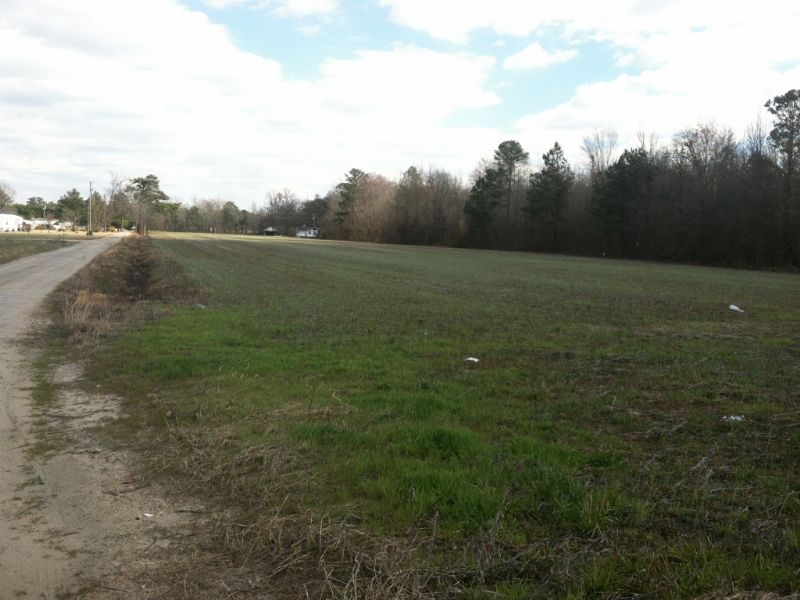 Nice Homesite Just Outside Pembroke : Pembroke : Robeson County : North Carolina