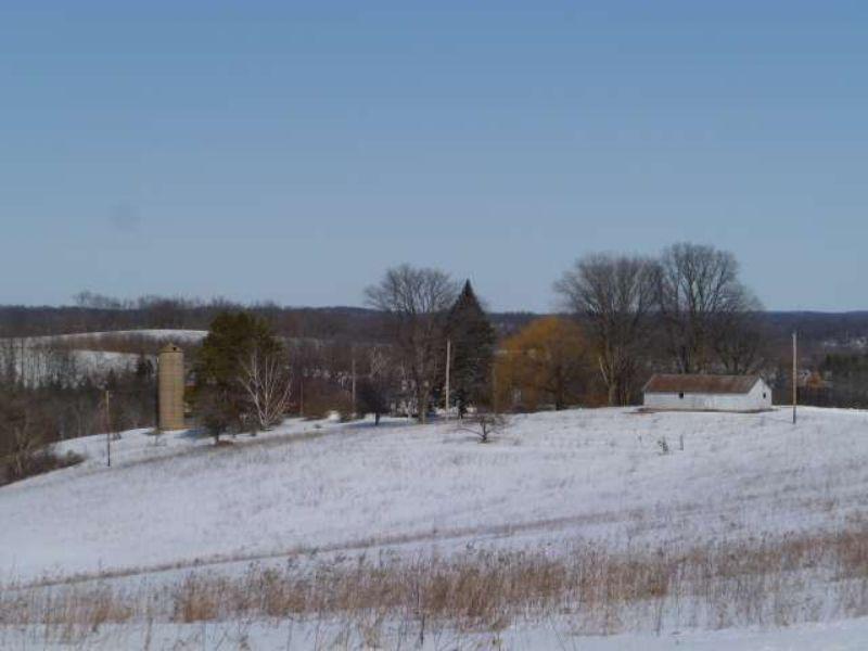 115 Ac Farm With Beautiful Views : Dodgeville : Iowa County : Wisconsin