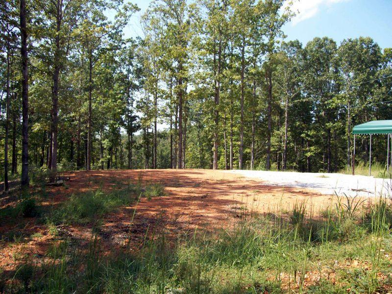 35.92 Acres - Site Ready To Build : Mountain View : Stone County : Arkansas